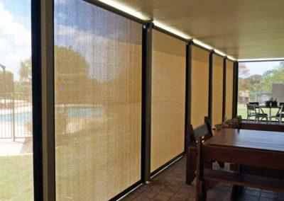 Enclosed Patio – Light Fabric